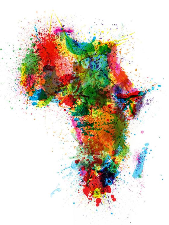 paint-splashes-map-of-africa-map-michael-tompsett
