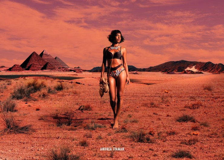 Andrea Iyama bikini 1